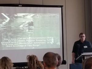 Ethan Kessler presenting